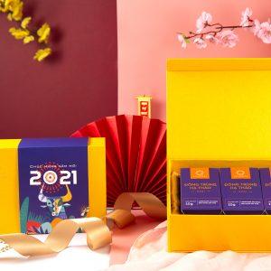 Hộp quà Tết Tân Sửu 2021 Medi